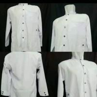 jasko putih premium jumbo baju ko koko jas pria