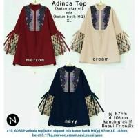 batik unik tunik blouse baju atasan blus wanita ibu menyusui xl jumbo