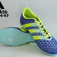 sepatu futsal dewasa size jumbo adidas ori premium blue 44-47 import