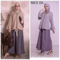 Setelan Muslimah/Baju Kerja Wanita/Baju Kerja Muslim/Blouse Muslim