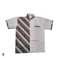 Baju Koko Batik Luqman Jumbo