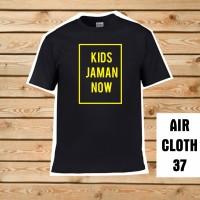 KAOS / BAJU Custom Kids Jaman Now 1 Warna - Best Quality