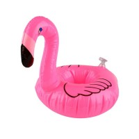 Flamingo Floating Inflatable Drink Can Holder