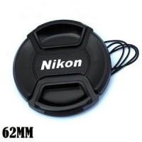 Tutup Lensa Lenscap Nikon 62mm