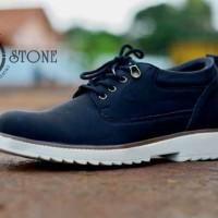 Sepatu Casual Pria Moofeat Stone Hitam BUKAN nike sb adidas yeezy vans