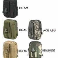 Tas Pria pinggang Dompet /sarung Hp army B318
