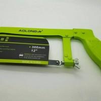 Alat Potong Besi Manual/Gergaji Besi AOLONG HACKSAW 12 3Ocm Termurah.