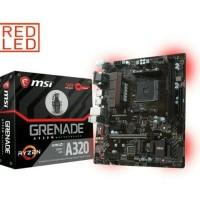 MOTHERBOARD AMD RYZEN MSI A320M GRENADE AM4