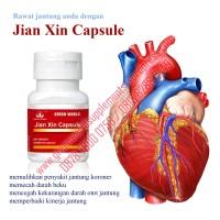 Obat Herbal Jantung Koroner Jian Xin Capsule Green World