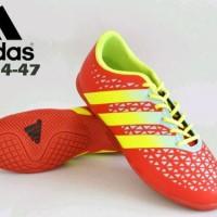 sepatu futsal dewasa size jumbo adidas original premium merah 44-47