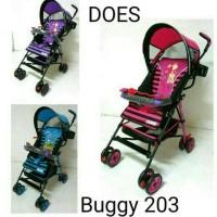 Promo Stroller Babydoes Buggy 203 Khusus Gojek/Gosend Exclusive