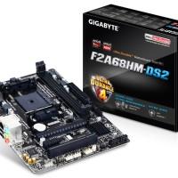 GIGABYTE GA-F2A68HM-DS2 AMD A68H FM2+ DDR3 Micro ATX Motherboard