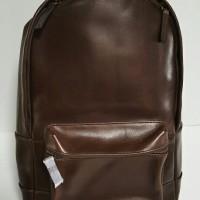 Fossil Estate Men Backpack Brown Leather. Tas Fossil Original
