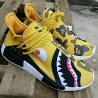 Adidas NMD Runner Pharrel Williams x Bape - Yellow Sharck