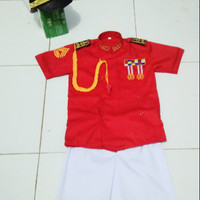 Baju karnaval anak AKPOL