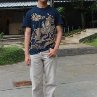Baju batik motif '' Paksi naga liman''