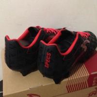 Wow Sepatu Bola Specs Quark Fg Black Emperor Red 100756 Original Bnib