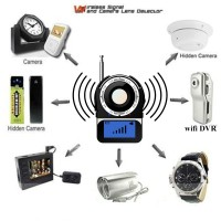 Digital Wireless RF Detector Finder Spy Hidden GPS GSM Camera Signal