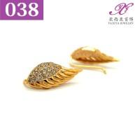 Anting Jalar Lapis emas Permata Perhiasan imitasi Gold18k Yaxiya 038