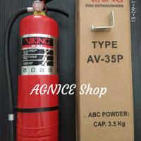 APAR VIKING 3,5 Kg Powder AV 35P Original Warranty Tabung Pemadam api
