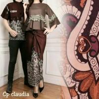 batik caupel pelicia n claudia baju batik pesta/kebaya modern