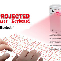 F1A Mini Portable Laser Projection Virtual Bluetooth Keyboard Mouse Sp