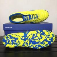 Sepatu Futsal Mizuno Monarcida 2 FS IN Yellow Bolt Blue P1GF172345 Ori