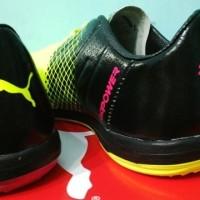 (Diskon) Sepatu Futsal Puma Evopower Tricks Pink Volt
