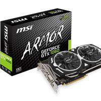 MSI Geforce GTX 1060 Armor 6G OC V1 6 GB 192 Bit DDR5