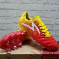Sepatu Bola Specs Equinox Red Yellow 100794 Original