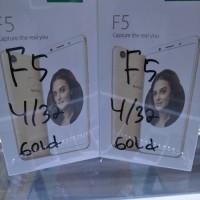 oppo f5 4/32 gold new garansi resmi