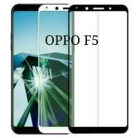 Tempered glass full 3D Oppo F5 Curved Warna