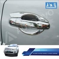 Pajero Sport Outer Handle Cover Chrome / Aksesoris Mitsubishi Pajero