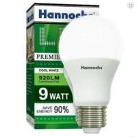 LAMPU LED BERGARANSI & HEMAT LISTRIK | Hannochs Premier 9 Watt