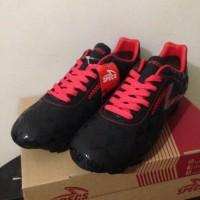 Sepatu Bola Specs Quark FG Black Emperor Red 100756 Original BNIB