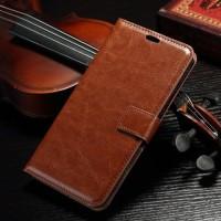 FLIP COVER WALLET Asus Zenfone 2 5.5 ZE551ML case dompet leather kulit