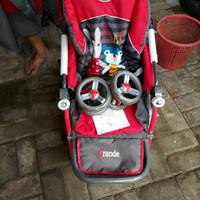 stroller bayi pliko grande merah