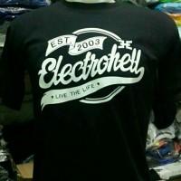 kaos electrohell/tees/tshirt/t shirt/t-shirt