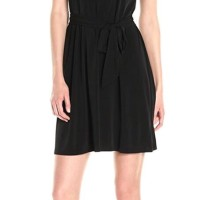 Baju Branded Murah Calvin Klein BlacknBlue Off Shoulder Dress Ori Prem