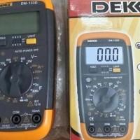 BEST SELLER - DEKKO DM-133D DIGITAL MULTITESTER MULTIMETER AVOMETER