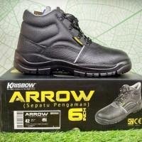 Safety shoes krisbow tipe Arrow 6 inch sepatu pengaman krisbow Arrow