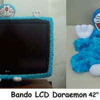 bando tv doraemon dora emon lucu LCD 42 42  42in 42inc 42inch