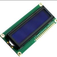 LCD Display 16x2 1602 I2C background biru tulisan putih 16 karakter