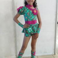 baju fashion show batik trendy casual anak