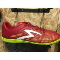 Sepatu Futsal Specs Original Apache In Dark Red/Solar Slime