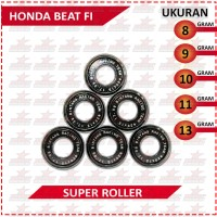 SUPER ROLLER BLACK DIAMOND BRT HONDA BEAT FI (8,9,10,11,13 GRAM)