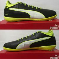 sepatu futsal puma evotouch 3 it 103752-01 original