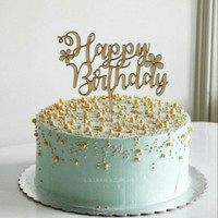 CUSTOM TOPPER / HIASAN KUE ULANG TAHUN / BIRTHDAY TOPPER / CAKE TOPPER