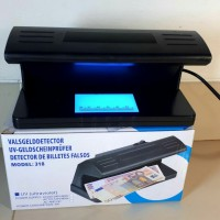 Alat Deteksi Uang Palsu /alat sensor uang/Money Detector model 318