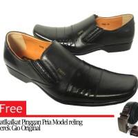 Sepatu Kulit Bally Pantofel 7081 kulit Asli
